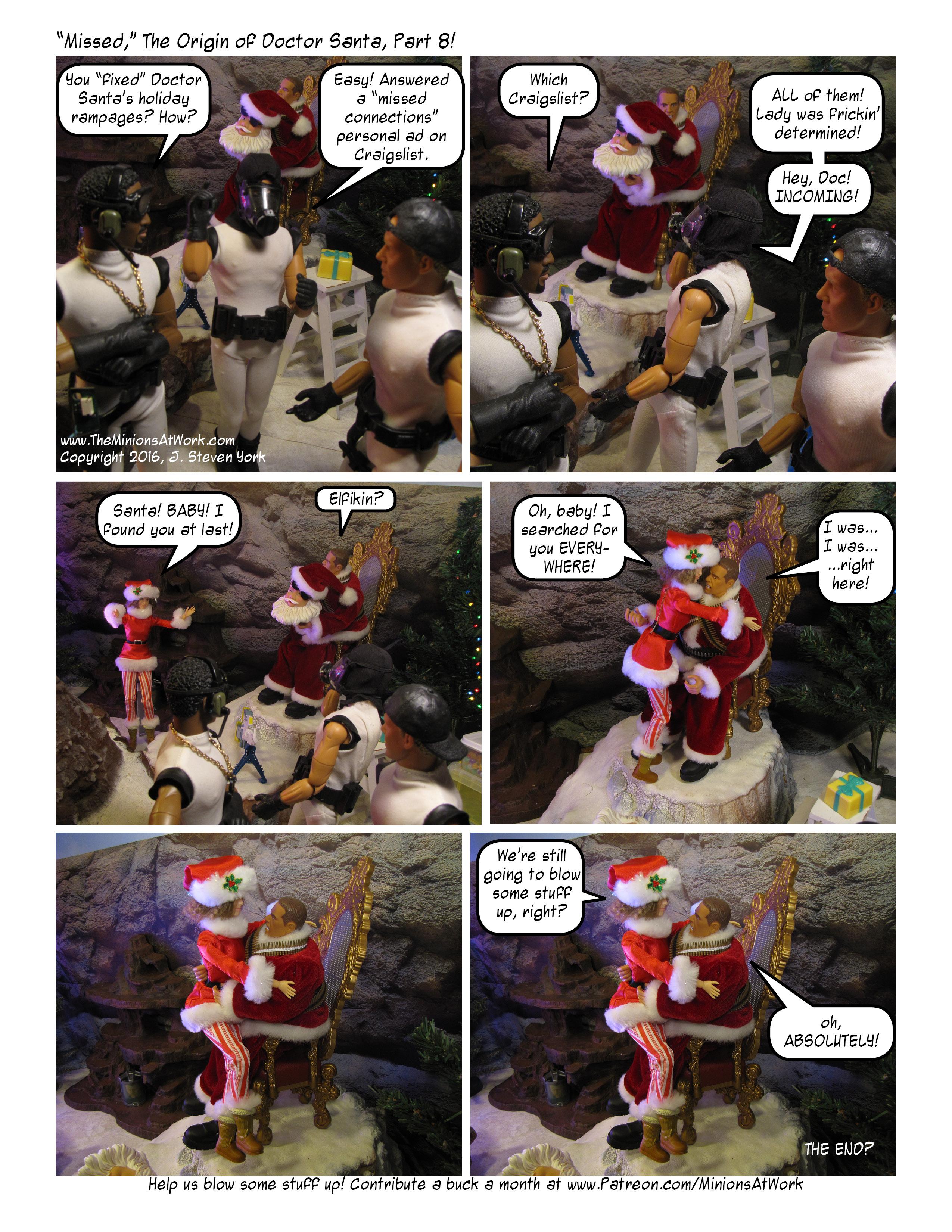 Origin of Doctor Santa Pt8